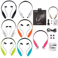 Wholesale New HBS HBS900 Headphone Earphone Sports Stereo Bluetooth Wireless HBS Headset Headphones For LG No logo Not Original With Package