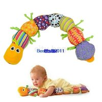 Wholesale New Fashion Baby Musical Colorful Soft Lovely Developmental Inchworm Educational Toy