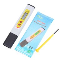 Wholesale New LCD Backlit Pen Type ORP Meter Portable Industry and Experiment Analyzer Redox Meter Drinking Water Quality Analysis Device