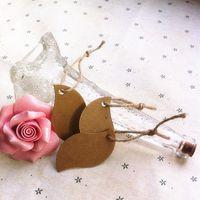 Wholesale Blank Kraft Paper Cloth Hangtags with Rope DIY Cardboard Gift Hang Tags Price Labels cm