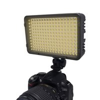 Wholesale Mcoplus Bi color Ultra High Powered LED Video Light for Canon Nikon Pentax Panasonic SONY Samsung and Olympus Digital SLR Cameras