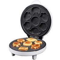 crepes machine - Dual side crepe maker hover mechanical mode cake machine non stick coating baking tool cartoon Cooking appliance