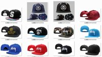 stussy - 10 new Stussy hater snapback Arrival many colors Fashion hip hop caps sport baseball caps hats Men and women