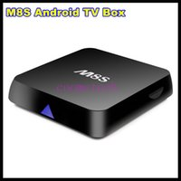 2g plugs - High quality M8S Ott TV Box G G Dual band G G wifi Android Amlogic S812 tv box M8S HD P Media Player with EU AU US UK Plug