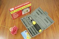 Wholesale 41 piece kit family repair function hand tools box household hardware supplies tool kits
