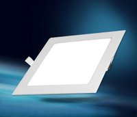 led downlight - Ultra thin design W W W W W W W LED Non dimmable ceiling recessed grid downlight slim square panel light
