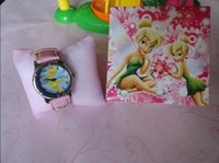 beautiful wrist watch - Cartoon Tinkerbell Child watch Wrist Watch with Beautiful Box