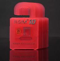 Wholesale 50PCS Newest Sim Unlock Card R SIM RSIM R SIM Directly Used Unlocking Card For iPhone Plus iOS6 X X WCDMA GSM CDMA