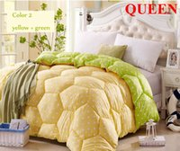 Wholesale Winter Bedding sets Bed set Winter quilt comforter Duvet edredon colcha feather quilts Twin Full Queen King Size