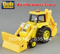 backhoe digger - Brand New Bob The Builder Diecast Backhoe Loader Scoop Digger Vehicle Toy Loose In Stock