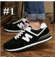 Unisex leather shoes for women - New arrival Balance casual sport shoes for men women Sneaker Lovers shoes Running Jogging shoes size Good quality