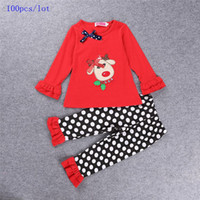 Cheap Samgami Baby Christmas suits Best Christmas Polka outfits