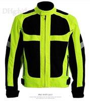 Wholesale Racing jackets Men motorcycle racing jackets male motorcycle racing protective clothing drop resistance summer breathable Reflective clothe
