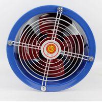 axial exhaust fan - Ventilation exhaust fan industrial cylinder tube axial fan power fan V V