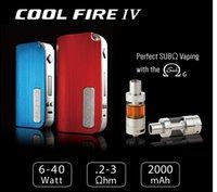 Cheap Innokin Cool Fire IV 40W Box Mod Cool Fire 4 Mechanical Mods Fit 510 Threading Atty V3 RDA Atomizer