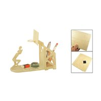 basketball puzzles - June Queen Wooden Basketball Pen Holder Woodcraft Construction Kit Assembling Puzzle Toy