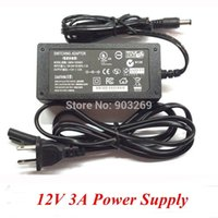 Wholesale Mail Free PC W A Switching Power Supply input V Output Switch Power For LED Strip Light