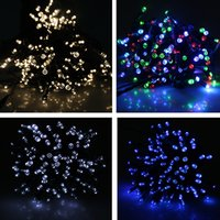 Wholesale 200 LED Solar String Light Outdoor Christmas Xmas lighting Waterproof Holiday lights New Year Party Decorations lamp