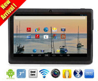 Wholesale New Cheap inch Capacitive Allwinner A33 Quad Core Android dual camera Tablet PC GB MB WiFi EPAD Youtube Facebook Google PB7A