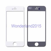 Wholesale 100 front glass lens for iphone G S C outer glass to repair LCD