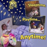 baby plush pillow pets - Projection lamp luminous Romantic star projection Baby sleep light Children s Animal Plush Doll Children s pet pillow baby