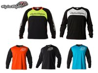 Wholesale Hot sale Troy Lee Designs TLD GP Midnight Motocross Jersey MX MTB Cycling Bicycle Bike Jersey T shirt Clothing Wear