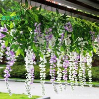 Wholesale Wedding Supplies Flower Wisteria Wedding Decorations Garland Home Ornament