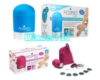 Wholesale 2015 New Arrivals Pedi Pro PediPro Deluxe Electric Callus Pedicure Pedi Foot File Hard Skin Remover Kit Set DHL EMS