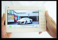 wholesale e book - 7 Inch eBook Reader E book Reader Real GB Super Media Player cact DHL free