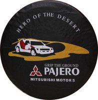 Wholesale Hot sell good quality SUV Cruiser Wheel Tire Tyre Soft Cover PU PVC Spare Tire Cover