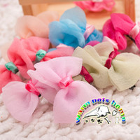 Wholesale CL927 Fashion Accessories For Dogs Goods For Pets Colorful Dog Grooming Bows Clips