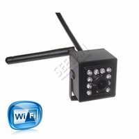 Wholesale Mini IR Camera Indoor nm Ir Led Wireless WIFI Ip Camera Pinhole Smallest Night Vision for Megapixe P HI3518E