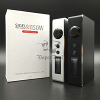 zero - Authentic Sigelei W E Cigarette Box Mod Variable Voltage Wattage Watts Ecig Sub Ohm Vapor Mods Vs Smy God Mod Zero Mod