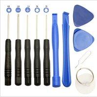 iphone 4 repair kit - 50 set Cell Phones Opening Pry Repair Tool Kit Screwdrivers Tools Set Ferramentas Kit For iPhone plus S for Samsung etc