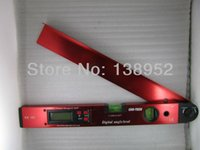 Wholesale High quality mm inch Digital Protractor Digital angle level digital spirit level Angle Finder color is random