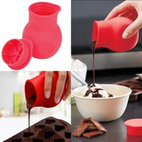baking butter - Fashion Hot Practical Silicone form Chocolate Melting Pot Mould Butter Sauce Baking Pouring for kitchen cooking tools accessories