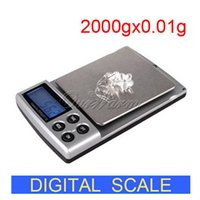 Wholesale Portable Electronic Balance Scale Digital Mini Pocket Jewelry Scale with Stainless Steel Pan LCD Display Capacity kg