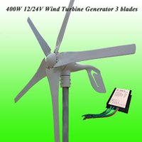 Wholesale 2015 Hot Selling Low Wind Speed Starting Blades W V V Wind Generator Kit With IP67 Wind Generator Charge Controlle