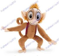 aladdin monkey - Original Aladdin Abu Monkey Plush Toy Doll cm Princess Jasmine Cute Soft Stuffed Animals Kids Toys for Children Gifts
