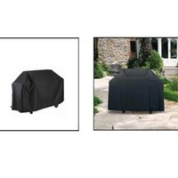 bbq grills - Water resistant BBQ Cover Garden Patio Rainproof Dustproof Sunscreen Gas Barbecue Grill Protector cm cm H13809