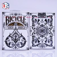 bicycle magic tricks - Archangels Deck Bicycle Playing Cards Poker Size USPCC Theory Limited Edition Magic Tricks