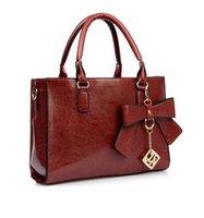 Wholesale Bow Sequined Chains Women Shoulder Bag Colors Women Handbags PU Leather Bag Hot Fashion Vintage Bags AA643