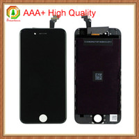Wholesale 10pcs For iPhone LCD Touch Screen Display Digitizer Assembly AAA High Quality Replacement Full Frame With Free Charge Phone Film