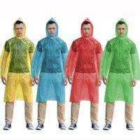 plastic raincoat - Portable One off Travel Raincoats Popular Disposable Travel Raincoats for Men and Women Plastic Material Unique Design Sale