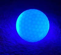 Wholesale Big promotion LED Flashing Golf Ball Luminous LED Golf Balls Luminous Mixed color