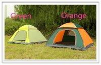 beach fishing equipment - Cheap Price New Outdoor Camping Tent Persons Tenda Camping Hiking Beach Fishing Mountain Equipment Orange Green Colours