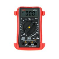 analog frequency meter - UNI T UT30F Multimetro Precise Palm Size Digital Multimeters W Frequency Test Analog Multimeter LCR Meter Ammeter Multitester