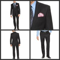 business wear - 2015 High Quality Side Slit Groom Tuxedos Two Buttons Well Fitted Business Suits Groomsman Wear Prom Wear Jacket Pants GT111544