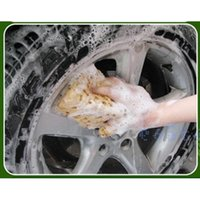 Wholesale Honeycomb Coralline Car Care Wash Tool Malt Pull Sponge Macroporous Cleaning Washing Spongia Cleaner Wiper