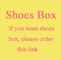 Wholesale Hi dear friend this link is just for the shoes box good quality box